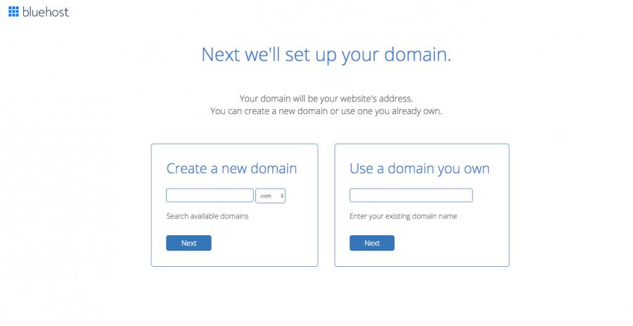 set up domain for blog
