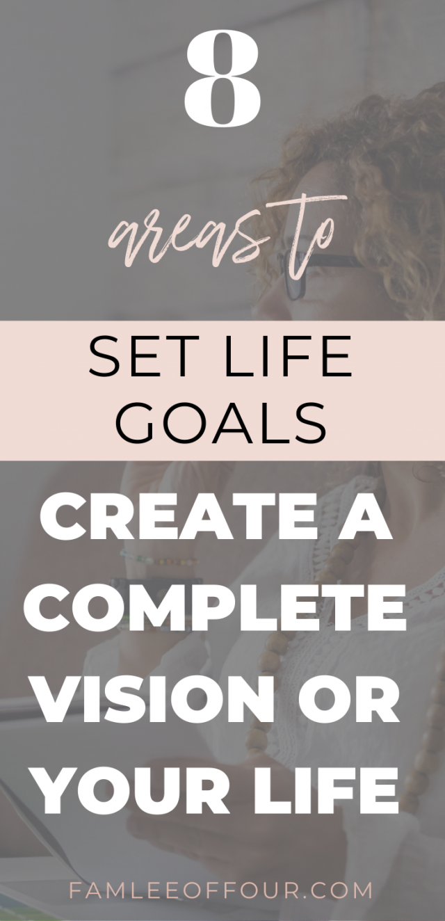Everyone talks about setting goals but do that tell you which areas are important. These are 8 must have goals in life that you need to set for balance and success. You don't want to unachieve in any area of you life. Because that will create a unbalance life style. Instead learn the key areas to set goals in life and how to achieve them. Free printable included Personal Development, Mom goals, Life goals, goals to set in life, How to achieve happiness, Relationship goals #goalsetting #intentionalliving #businessgoal #goalsinlifecareer #relationshipgoals