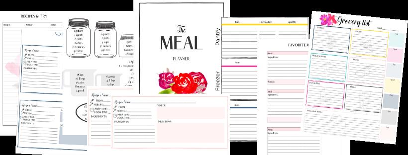 meal planner kit