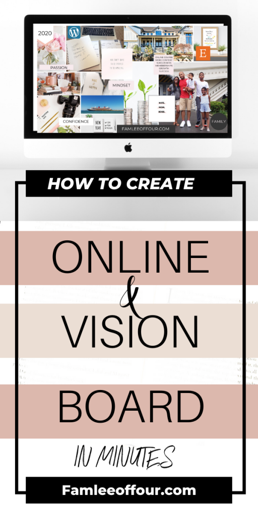 Want to create a vision board but don't have the time to run to the store get supplies and cut in paste for what seems like a daunting art projects? Thats the best part about creating a digital vision board . A vision board that you can add to your desktop or cellphone lock screen.  The whole idea is to put it in a place that you can visualize it everyday so you can manifest your goals. Vision board online  #manifestyourdreams  #howtocreateadigitalvisionboard