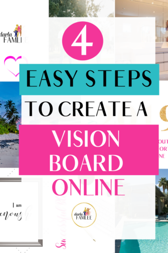Want to create a vision board online for free? Check out these steps to create a vision board online using Canva. HOW TO CREATE A VISION BOARD DIGITAL | #goalsetting #manifestdreams