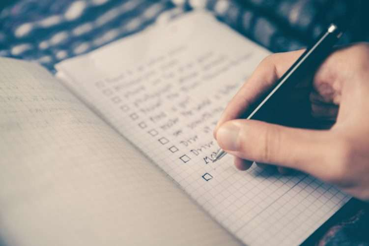 to do list help you stay cosistent
