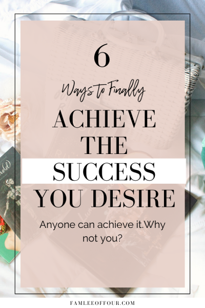 6 Ways to go get out of your way and create the life you deserve. Read this post to find real actionable tips to help you grow and become successful in life. With confident, happiness and direction you are capable of anything. Self Help| positive attitude, Successful Life, Key to Success, Habits of Successful people, Goals , Dreams, Self Improvement, Intentional Living #successfullife #positivelife #beconfident