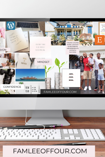 digital vision board