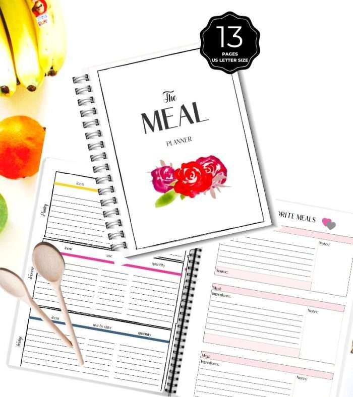 meal planner kit printable