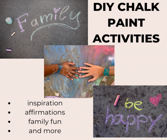 diy chalk paint in 3 steps