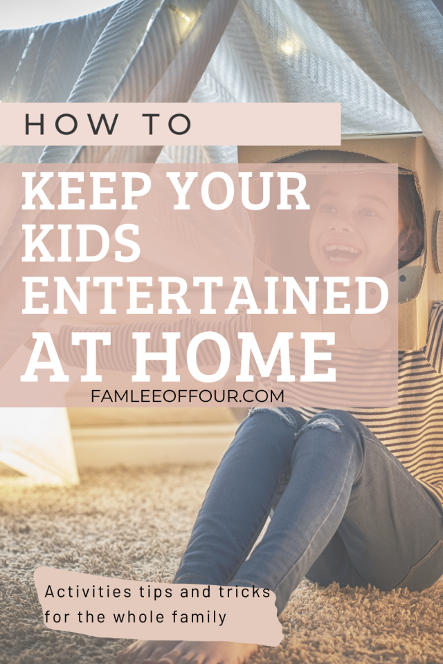 Are you kids at home bored or asking you to entertain then every 5 mins? Are you all out of ideas for your kids and need new suggestions? Learn new ideas to keep your kids busy at home so you can relax, finish task or even think. #workfromhomemom #workathomemom #keepingkidsbusy #keepkidsbusy #coronovirus #kidsactivities #kidhacks #momhacks